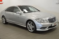 USED 2013 13 MERCEDES-BENZ S CLASS 3.0 S350 BLUETEC L AMG SPORT EDITION 4d AUTO 258 BHP PANORAMIC ROOF + SERVICE HISTORY + NAV + CAMERA