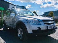 2010 CHEVROLET CAPTIVA 2.0 LT VCDI 5 DOOR SUV, WITH ONLY 55,000 MILES £4995.00