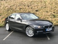 USED 2013 62 BMW 3 SERIES 2.0 318D LUXURY 4d 141 BHP SERVICE HISTORY, £30 TAX, FULL LEATHER
