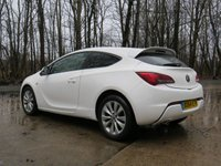 USED 2014 64 VAUXHALL ASTRA 2.0 GTC LIMITED EDITION CDTI 3d AUTO 162 BHP
