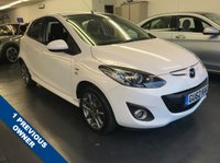 USED 2012 62 MAZDA 2 1.3 VENTURE EDITION 5d 83 BHP FULL SERVICE HISTORY WITH ONE PREVIOUS OWNER, TOUCHSCREEN SAT NAV