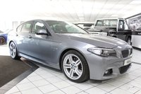 USED 2015 64 BMW 5 SERIES 535D M SPORT AUTO 309 BHP HARMAN KARDON MULTI FUNC DISP!