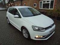 2015 VOLKSWAGEN POLO 1.2 SE TSI 5d 89 BHP £20.00 A YEAR ROAD TAX £7995.00