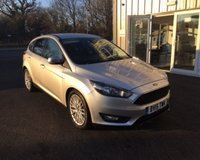 USED 2015 15 FORD FOCUS 1.6 TDCI ZETEC NAVIGATOR 115 BHP THIS VEHICLE IS AT SITE 1 - TO VIEW CALL US ON 01903 892 224