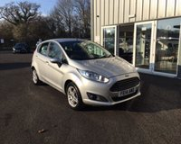 USED 2014 14 FORD FIESTA 1.25 ZETEC THIS VEHICLE IS AT SITE 2 - TO VIEW CALL US ON 01903 323333