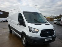 2017 FORD TRANSIT 2.0 350 L3 H3 LWB HIGH ROOF PANEL VAN 130PS euro 6 eletric pack and remote locking £12810.00