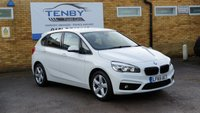 2015 BMW 2 SERIES 2.0 218D SPORT ACTIVE TOURER 5d 148 BHP £11484.00