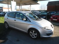 USED 2008 57 SEAT ALTEA 1.9 REFERENCE SPORT TDI 5d 103 BHP 9 SERVICE STAMPS