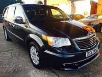 2013 CHRYSLER GRAND VOYAGER 2.8 CRD LIMITED 5d AUTO 178 BHP £SOLD
