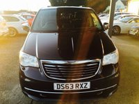 USED 2013 63 CHRYSLER GRAND VOYAGER 2.8 CRD LIMITED 5d AUTO 178 BHP