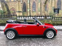 USED 2011 11 MINI CONVERTIBLE 1.6 COOPER D 2d 112 BHP