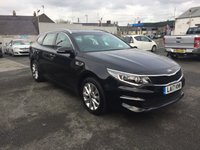 USED 2017 17 KIA OPTIMA 1.7 CRDI 2 ISG 5d 139 BHP