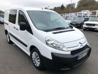 USED 2008 57 CITROEN DISPATCH 2.0 1200 L1H1 SWB HDI 120 1d 118 BHP NO VAT, side doors & lined rear