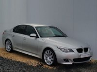 USED 2009 59 BMW 5 SERIES 2.0 520D M SPORT BUSINESS EDITION 4d AUTO 175 BHP