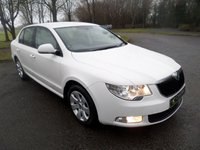 USED 2013 SKODA SUPERB 1.6 S GREENLINE II TDI CR 5d 105 BHP ***EXCELLENT FINANCE PACKAGES AVAILABLE*** ONE OWNER FROM NEW ***