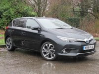 USED 2016 16 TOYOTA AURIS 1.8 VVT-I DESIGN 5d AUTO 99 BHP LOW MILEAGE AND PANORAMIC GLASS ROOF