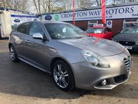USED 2015 65 ALFA ROMEO GIULIETTA 1.4 TB MULTIAIR EXCLUSIVE TCT 5d AUTO 170 BHP 0%  FINANCE AVAILABLE ON THIS CAR PLEASE CALL 01204 393 181