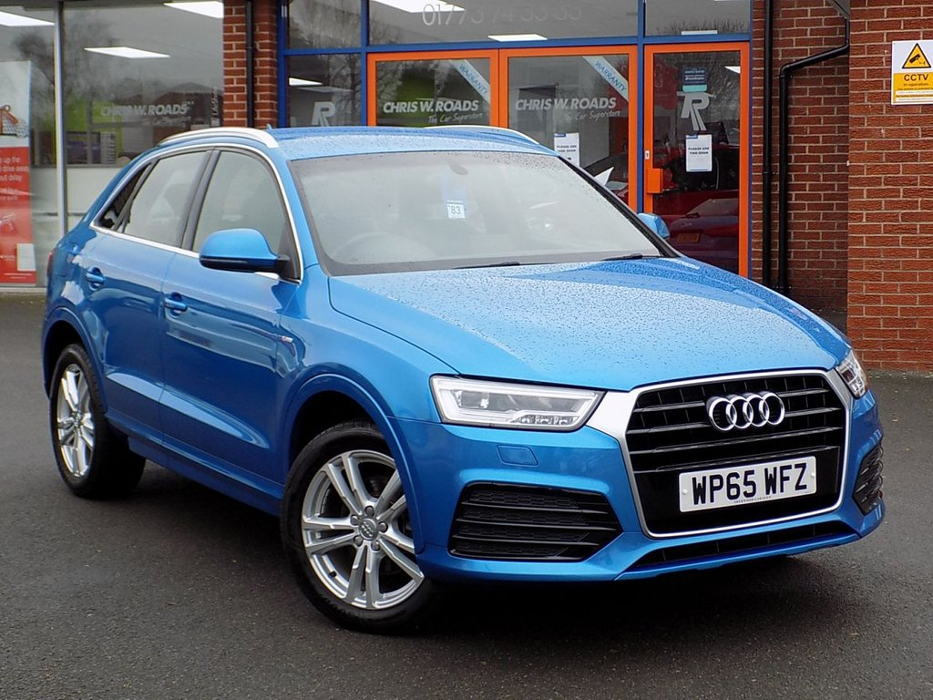 USED 2015 65 AUDI Q3 2.0 TDi S Line 5dr (150) Part Leather + Heated Fr Seats