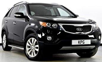 2011 KIA SORENTO 2.2 CRDi KX-3 4WD 5dr (7 Seats, SLS) £10495.00