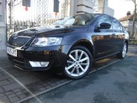USED 2015 15 SKODA OCTAVIA 1.6 ELEGANCE TDI CR DSG 5d AUTO 104 BHP *** FINANCE & PART EXCHANGE WELCOME *** 1 OWNER DIESEL AUTOMATIC £ 20 ROAD TAX SAT/NAV FRONT & REAR PARKING SENSORS CRUISE CONTROL BLUETOOTH PHONE DAB RADIO