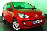 USED 2016 16 VOLKSWAGEN UP 1.0 HIGH UP BLUEMOTION TECHNOLOGY 5d 74 BHP