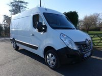 2016 RENAULT MASTER MM35 BUSINESS PLUS MWB Medium High 2.3 DCI 125Ps £10995.00