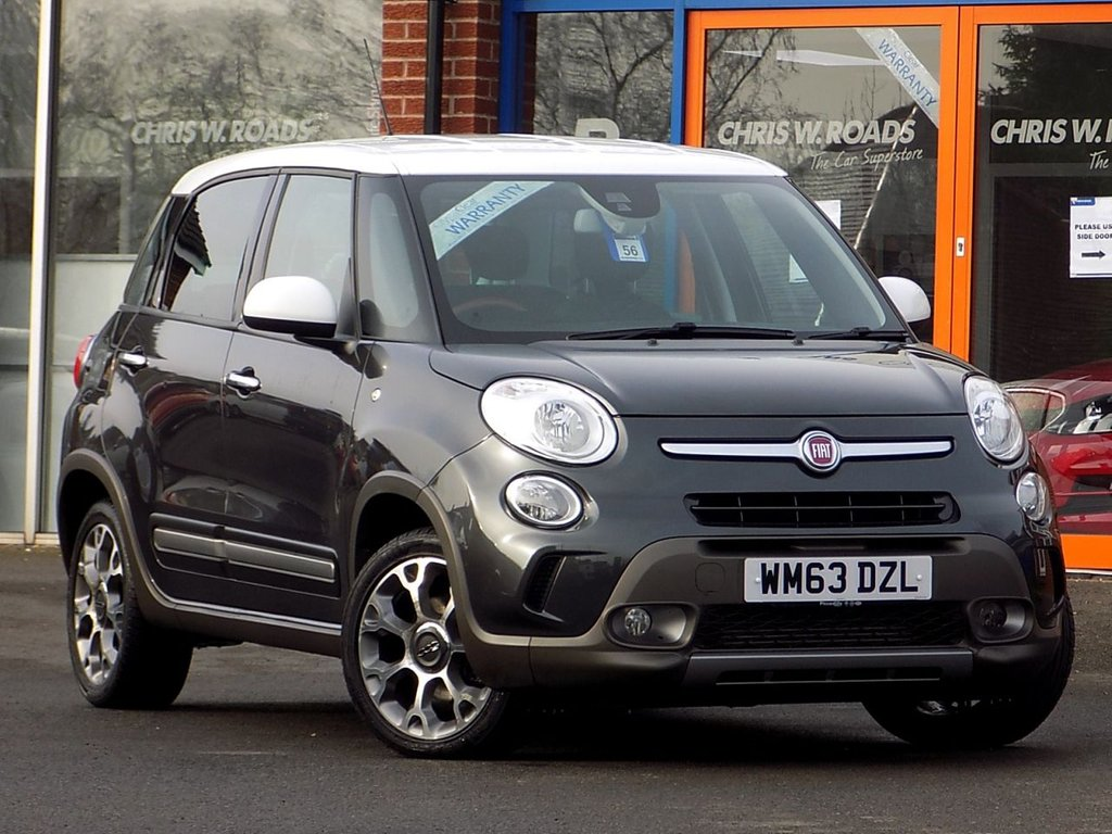 USED 2014 63 FIAT 500L 1.3 Multijet Trekking 5dr  ** Part Leather + Bluetooth **