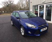 USED 2014 64 FORD FOCUS 1.6 ZETEC THIS VEHICLE IS AT SITE 1 - TO VIEW CALL US ON 01903 892224