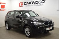 USED 2017 17 BMW X3 2.0 XDRIVE20D SE 5d AUTO 188 BHP ONLY 8,000 MILES FROM NEW + 1 LADY OWNER + SAT NAV + LEATHER