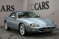 USED 2002 02 JAGUAR XK 4.0 CONVERTIBLE 2d AUTO 290 BHP Full Ivory Heated Leather Seats, Heated Electric Powerfold Mirrors, Front and Rear Park Distance Control, On-board Computer, Wood / Leather Multi Function Steering Wheel, Cruise Control, Un-marked 19 Inch Alloy Wheels, Automatic Xenon Headlights + Power Wash,  Digital Dual Zone Climate Control