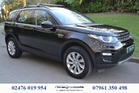 USED 2016 65 LAND ROVER DISCOVERY SPORT 2.0 TD4 SE TECH 5d AUTO 180 BHP STUNNING 7 SEAT DISCOVERY SPORT