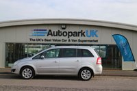 USED 2008 08 VAUXHALL ZAFIRA 1.8 DESIGN 5d 140 BHP LOW DEPOSIT OR NO DEPOSIT FINANCE AVAILABLE