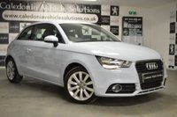 USED 2013 13 AUDI A1 1.6 TDI SPORT 3d 103 BHP BEAUTIFULLY PRESENTED IN QUMULUS BLUE GLOSS, A STUNNING AND RARE COLOUR, THIS CAR IS SURE TO TURN HEADS. ONE FORMER KEEPER with SERVICE HISTORY & 12 MONTHS MOT