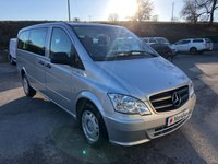 USED 2014 14 MERCEDES-BENZ VITO 113 CDI TRAVELINER LONG 9 SEAT MINIBUS *SIX MONTHS AA WARRANTY*