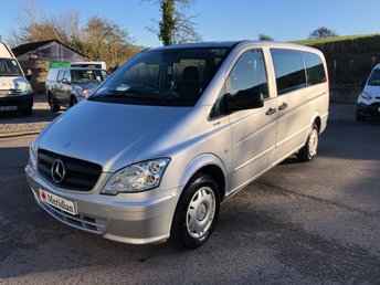 2014 MERCEDES-BENZ VITO 113 CDI TRAVELINER LONG 9 SEAT MINIBUS £SOLD