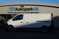 USED 2015 65 VAUXHALL VIVARO 1.6 2900 L1H1 CDTI P/V 1d 114 BHP LOW DEPOSIT OR NO DEPOSIT FINANCE AVAILABLE
