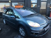 USED 2012 12 CITROEN C4 GRAND PICASSO 1.6 EXCLUSIVE HDI EGS 5d AUTO 110 BHP