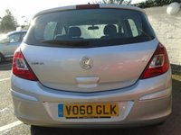 USED 2010 60 VAUXHALL CORSA 1.2 EXCLUSIV A/C 5d 83 BHP GUARANTEED TO BEAT ANY 'WE BUY ANY CAR' VALUATION ON YOUR PART EXCHANGE