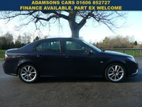 USED 2009 59 SAAB 9-3 1.9 AERO TTID 4d 180 BHP Superb Throughout,Low Mileage,Full Service History,New Mot,Leather