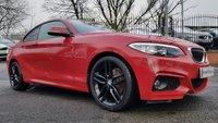 2014 BMW 2 SERIES 2.0 218D M SPORT 2d 141BHP £12990.00
