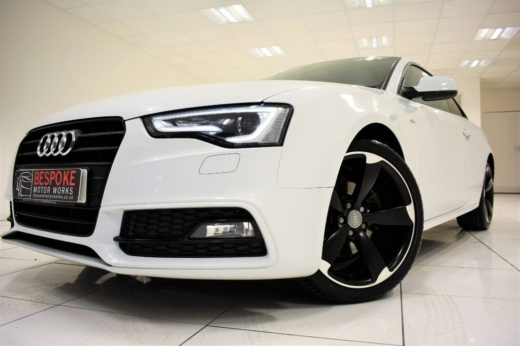 USED 2013 13 AUDI A5 2.0 TDI S LINE BLACK EDITION 177 BHP COUPE