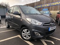 USED 2011 11 HYUNDAI I10 1.2 ACTIVE 5d AUTO 85 BHP LOW MILEAGE, SMALL AUTOMATIC WITH SENSORS
