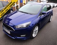 USED 2015 65 FORD FOCUS 1.5 TDCI ZETEC S NAVIGATOR 120 BHP  THIS VEHICLE IS AT SITE 1 - TO VIEW CALL US ON 01903 892224