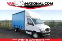 USED 2015 15 MERCEDES-BENZ SPRINTER 2.1 313 CDI 129 BHP LWB CURTAIN SIDE (ONE OWNER BARN DOORS) ** READY TO LOAD UP AND  DRIVE AWAY TODAY **