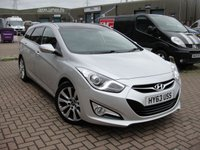 USED 2013 63 HYUNDAI I40 1.7 CRDI PREMIUM 5d AUTO 138 BHP ANY PART EXCHANGE WELCOME, COUNTRY WIDE DELIVERY ARRANGED, HUGE SPEC