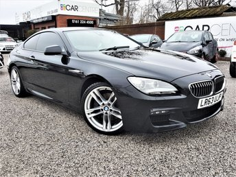 View our 2013 63 BMW 6 SERIES 3.0 640D M SPORT 2d AUTO 309 BHP