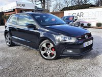 USED 2011 61 VOLKSWAGEN POLO 1.4 GTI DSG 3d AUTO 177 BHP PADDLE SHIFT GEARS + FULL SERV