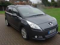 USED 2010 60 PEUGEOT 5008 1.6 HDI EXCLUSIVE 5d 110 BHP
