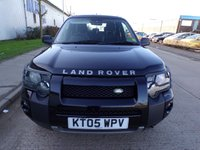 USED 2005 05 LAND ROVER FREELANDER 2.0 TD4 SPORT HARD TOP 3d 110 BHP DIESEL PART EXCHANGE AVAILABLE / ALL CARDS / FINANCE AVAILABLE