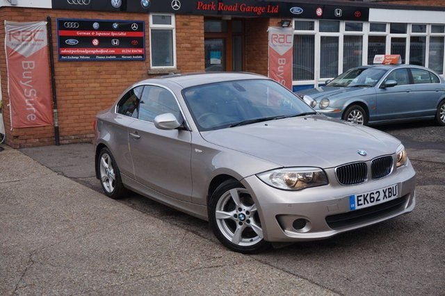 USED 2012 62 BMW 1 SERIES 2.0 118d Exclusive Edition 2dr FULL SERVICE HISTORY